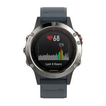 Garmin Fenix 5 GPS-Multisportuhr blau