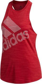 adidas Badge of Sports Tanktop Damen rot
