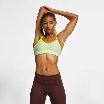 Nike Flyknit Indy Tech Sport-BH  Damen grau