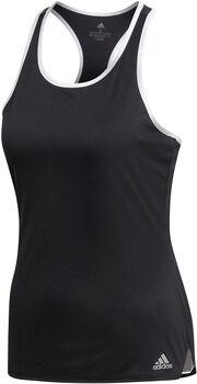 ADIDAS Club Tennisshirt Damen schwarz