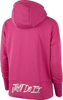 Nike  Dry Hoodie Fz pink