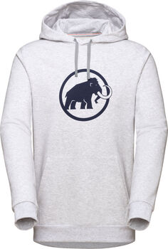 MAMMUT Logo Kapuzensweater Herren grau