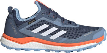 ADIDAS TERREX Agravic Flow GORE-TEX Trailrunning-Schuh Damen blau