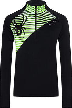 Spyder Resolve Langarmshirt mit Half Zip Herren schwarz