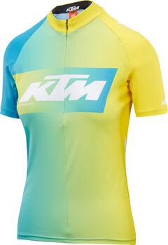 KTM Lady Line Radtrikot mit Halfzip Damen blau