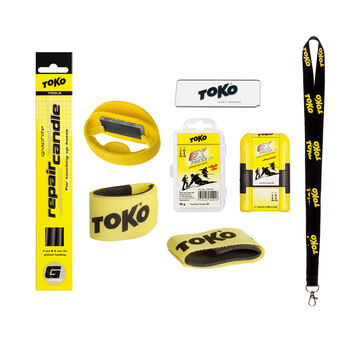 TOKO Express Tuning Set Alpinwax weiß