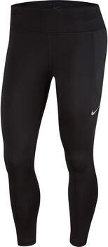 Nike Fast Crop Tight Damen schwarz