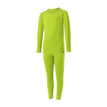 LÖFFLER Transtex® Warm Unterwäsche-Set grün