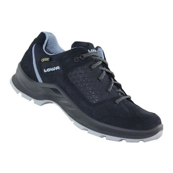 Lowa Terrios Evo GTX Low Outdoorschuhe Damen blau