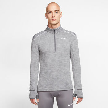 Nike Therma-Sphere 3.0 Langarmshirt  Herren grau