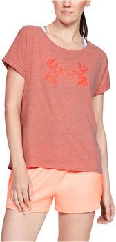 Under Armour GRAPHIC SCRIPT LOGO FASHION T-Shirt Damen pink