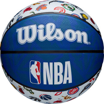 Wilson NBA All Teams Logo Basketball blau