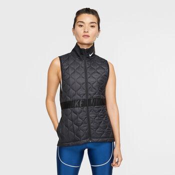 Nike AeroLayer Gilet Damen schwarz