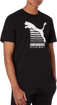Puma Graphic T-Shirt Herren schwarz