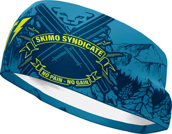DYNAFIT Graphic Performance Stirnband blau