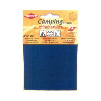 Kleiber Camping-Reparaturset Nylonflicken blau