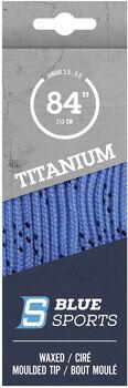 Blue Sports Titanium Pro Schnürsenkel blau