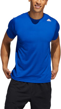 adidas FreeLift Sport Fitted 3-Streifen T-Shirt Herren blau