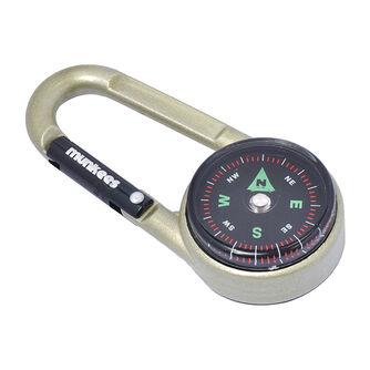 Kompass & Thermometer Karabiner