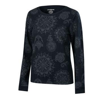 Desigual Sport Template Sweatshirt Damen schwarz