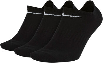 Nike U Nk Everyday Lightweight No-Show Socken - 3er-Pack schwarz