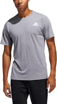 adidas FreeLift Sport Prime Heather T-Shirt Herren grau