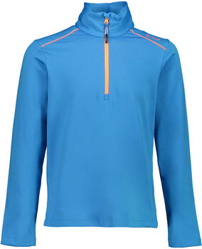 CMP Trentino Langarmshirt mit Halfzip blau