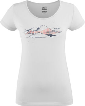 Millet Mountain T-Shirt Damen weiß