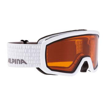 ALPINA Scarabeo DH Skibrille weiß