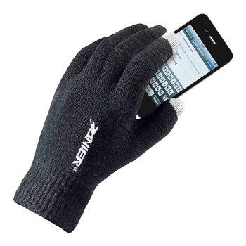 ZANIER E-Touch Skihandschuhe schwarz