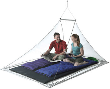 Sea to Summit Nano Mosquito Pyramid Net Moskitonetz cremefarben
