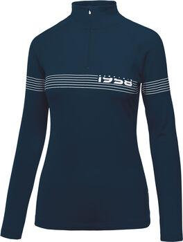 MARTINI Ultima Langarmshirt mit Halfzip Damen blau