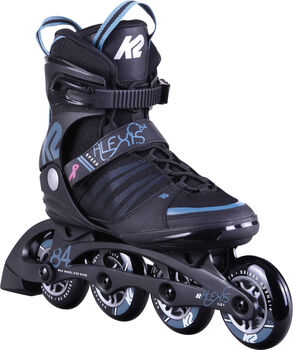 K2 Alexis 84 Speed Alu Inlineskates Damen schwarz