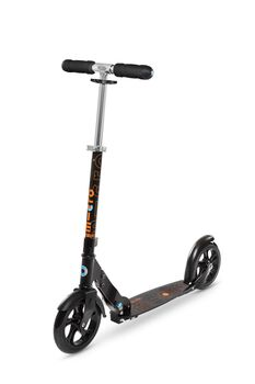 Micro  Black Scooter  schwarz