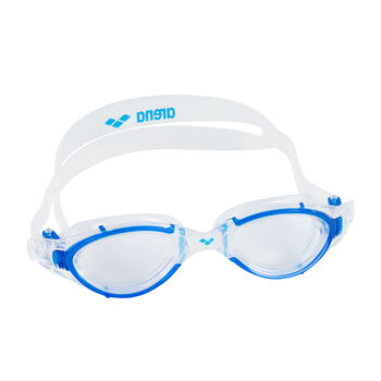 Arena Nimesis Crystal Fit M Schwimmbrille weiß