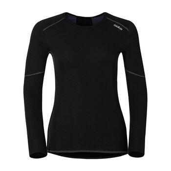 odlo X-Warm L/S Shirt Damen schwarz