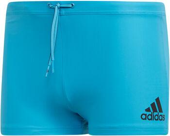 ADIDAS Logo Boxer-Badehose Herren blau