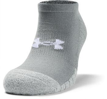 Under Armour HeatGear® No Show  3-er Pack Socken grau