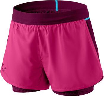 DYNAFIT Alpine Pro Laufshorts mit Innentights Damen pink