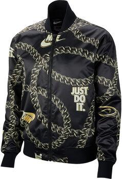 Nike Sportswear Synthetic Fill Icon Clash Jacke Damen schwarz