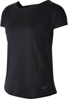 Nike Pro Dry Elastika T-Shirt Damen schwarz
