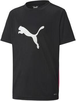 Puma ftblPLAY Logo T-Shirt schwarz