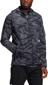 adidas Freelift Camouflage Kapuzenjacke schwarz