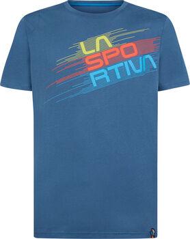 La Sportiva Stripe Evo T-Shirt Herren blau