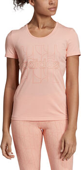 ADIDAS Motion T-Shirt Damen pink