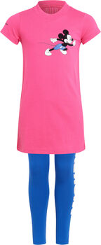 adidas Disney Mickey Mouse Sommer-Set T-Shirt und Tights pink