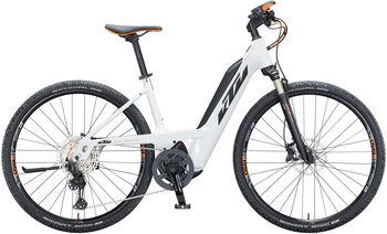 KTM Macina Cross 610 PTS E-Trekkingbike weiß