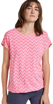 TOM TAILOR Blouse Printed Damen pink