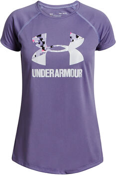 Under Armour BIG LOGO T-Shirt Damen lila