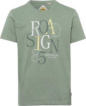 Roadsign 85 T-Shirt Herren grün